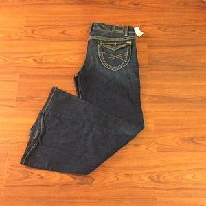 Aeropostale Hailey skinny flair low rise slim fit